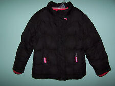 CHEROKEE Girls Black Puffer Winter Jacket Size 4T
