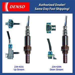 Denso Oxygen Sensor Up & Down Stream Set for 07-12 Chevrolet Colorado 2.9L/etc.