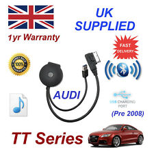 Para Audi Tt Bluetooth USB Música Tiempo Real Módulo Mp3 Iphone HTC Nokia Lg