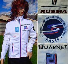 rare! VUARNET jacket RUSSIA alpine SKI snowboard RACE TEAM warm up track women S