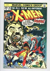 X-Men #94 Vol 1 Near Perfect High Grade 2nd Appearance of the New X-Men Team