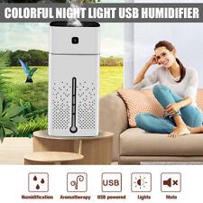 White 1000ML Ultrasonic Air Humidifier Aroma Lamp Oil Diffuser Mist Purifier USB