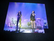 THE VERONICAS sexy signed Autogramm  In Person 20x25 cm YOU RUIN ME