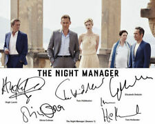 The Night Manager Tom Hiddleston Hugh Laurie Cast Signed Photo Autograph Reprint