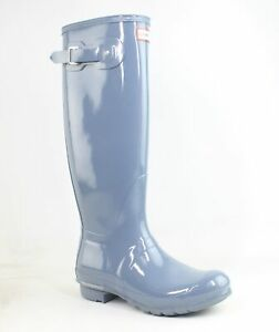 Hunter Womens Blue Rainboots Size 9 (1290377)