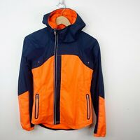 Lululemon Size 4 Run Get Up And Glow Jacket Light Flare Inkwell Reflective