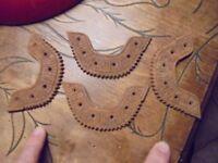 2 paires :Ancien Fer à Chaussures de Marche ou Montagne , Bottes : Cordonnier