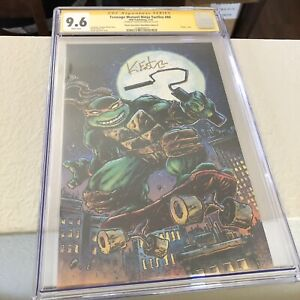 Teenage Mutant Ninja Turtles #80 Kevin Eastman Planet Awesome Variant CGC SS 9.8
