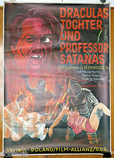 manifesto 1F film BATWOMAN - LA MUJER MURCIELAGO Rene Cardona ed. tedesca 1968