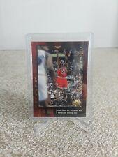 Michael Jordan 1999 Upper Deck The Final Shot #59 Chicago Bulls HOF