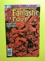 FANTASTIC FOUR #220 REACH FOR THE STARS!  Marvel 1980 - SHARP!