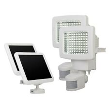 Sunforce White Twin Pack 80-LED Solar Motion Activated Outdoor Security Light