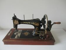 Original  1910  Pfaff K  Sewing Machine with wooden case
