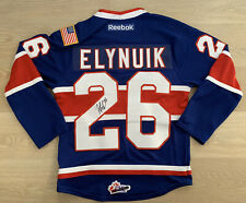signed ELYNUIK whl jersey - Reebok - SPOKANE CHIEFS - adult small - CHL NHL