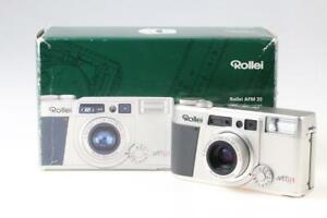 ROLLEI AFM 35 Sucherkamera in OVP - SNr: 6004652