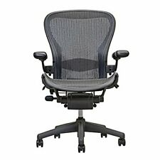 Herman Miller Aeron Chair Open Box Size B Fully Loaded  ( Black Chair )