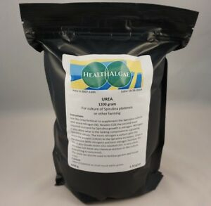UREA fertilizer, 1200 g (Swedish Grade) for gardening and Spirulina cultivation