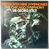 Beethoven Nine Symphonies Chicago Symphony [9-LP Box Set] LP Vinyl Record Album