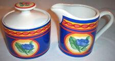 Misono AVIGNON 4855: Sugar Bowl with Lid & Creamer: EXC: NR