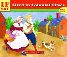 If You Lived In Colonial Times: By Mcgovern, Ann