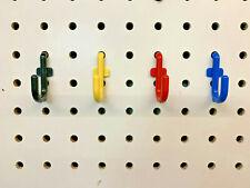 WallPeg Locking Pegboard Hooks / Tool Hanger / Wall Hook / Tool organizer