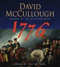 1776 Audio CD David McCullough Abridged Audiobook CD Abridged Edition NEW Sealed