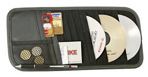 8 Pocket Car Sun Visor Organizer Pouch Bag Cash CD/DVD Card Holder Organizer