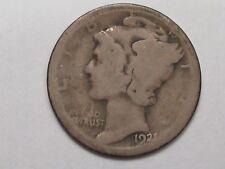 KEY AG 1921 US Mercury Dime.  #17