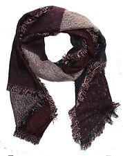 Indiano Pakistano Scialle Sciarpa Pashmina Wrap sciarpe scialli in lana acrilica grandi
