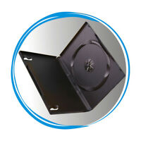 14mm Black Standard CD DVD Blu Ray Media Storage Case Holder Wholesale Lot