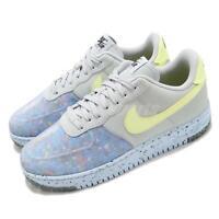 Nike Air Force 1 Crater Pure Platinum Barely Volt Men Casual Shoes CZ1524-001