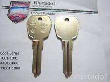 Key Blank for Vintage Jaguar XJ6 XJ12 XJR XJS SC Sovereign Vanden Plas  (FC7)