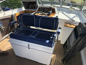 Twin Deluxe Tilt Back Box Seat RIB Boat Centre Console Made To Order