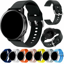 20mm Universal Band Waterproof Silicone Material Wristwatch Strap Quick Release