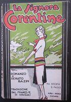 1939 LA SIGNORA CORENTINE romanzo Renato Bazin Pia società San Paolo