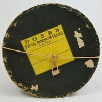 """Vintage Round Hat Box Storage 5th Avenue New York Dobb's Horse and Carriage 12"""""""