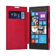Etui Porte Carte pour Nokia Lumia 1020 couleur Rose Fushia + Film de Protection