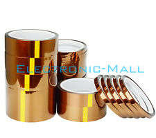 33M T0.055mm Roll Kapton Adhesive Tape High Temperature Heat Resistant Polyimide