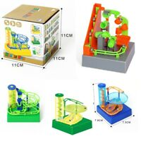 TRACK MAZE TOY BRICK MARBLE RUN MINI MECHANICAL BALL MAZE TRACK CHRISTMAS GIFT
