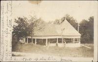 Sugarhill Sugar Hill NH Bldg Hotel Lookoff Grounds c1910 Real Photo Postcard