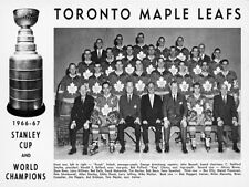 1967 Toronto Maple Leafs Stanley Cup Champs Team Photo 8 X 10 Picture