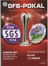 Orig.PRG   DFB Pokal Frauen  13/14  FINALE   1.FFC FRANKFURT - SGS ESSEN  !!