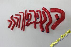 silicone radiator & heater hose SET - Jaguar XJS V12 Red