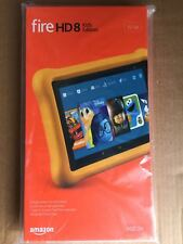 "New Fire HD 8 Kids Edition Tablet, 8"" HD Display, 32 GB, Yellow Kid-Proof Case"