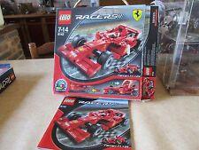 Lego Racers Ferrari F1   Rèf 8142  boite vide avec notice