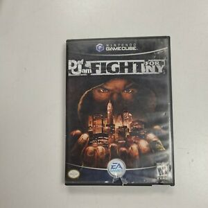 Def Jam: Fight for NY (Nintendo GameCube) AUTHENTIC Case/Manual only NO GAME