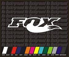 "22"" Fox Racing Fox Head Sticker Decal MX ATV MTB BMX OFF ROAD motorcycle moto"