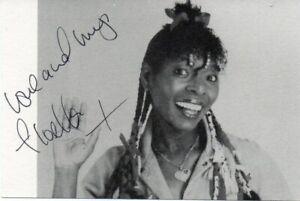 Floella Benjamin Autograph - Play School - Play Away - Signed 5x3 Photo - AFTAL