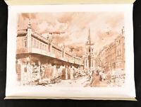1990 Old Spitalfields Market Vale Geoffrey Fletcher Prints Scarce