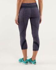 Lululemon Run: Inspire Crop II Size 8 NWT $86